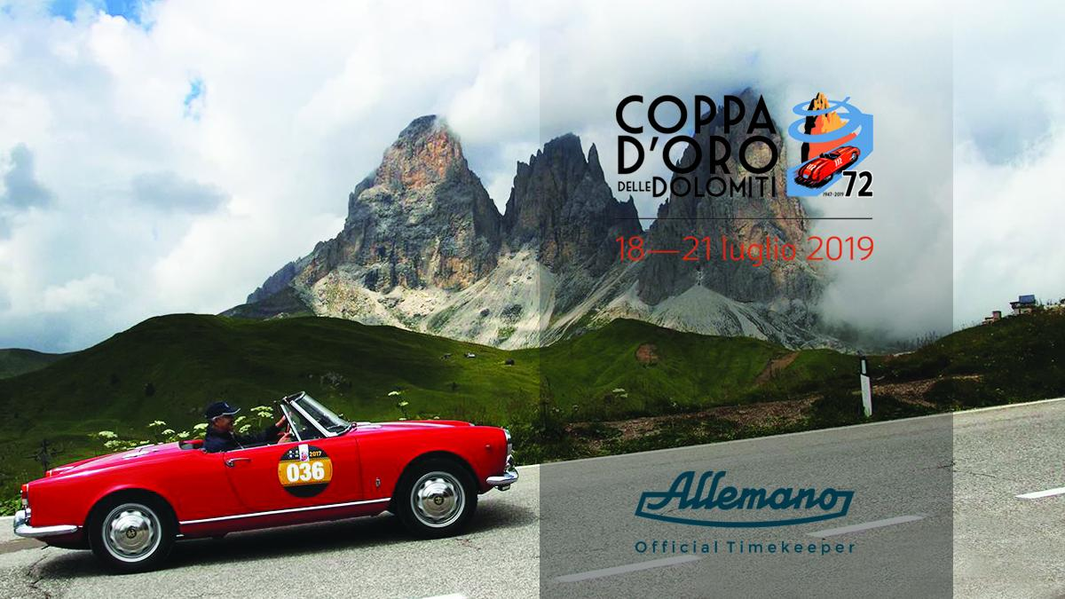 "Allemano as ""Official Timekeeper"" of the 2019 Coppa d'Oro delle Dolomiti"