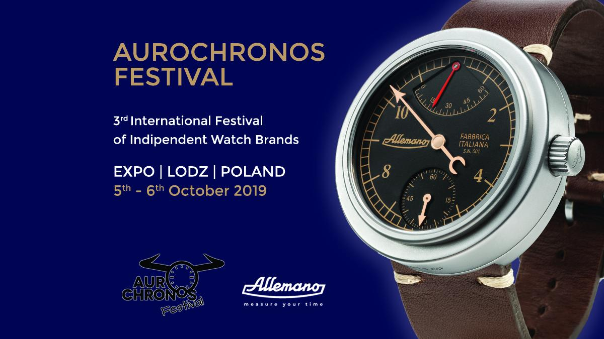 ALLEMANO @ AUROCHRONOS (OCTOBER 5th-6th)