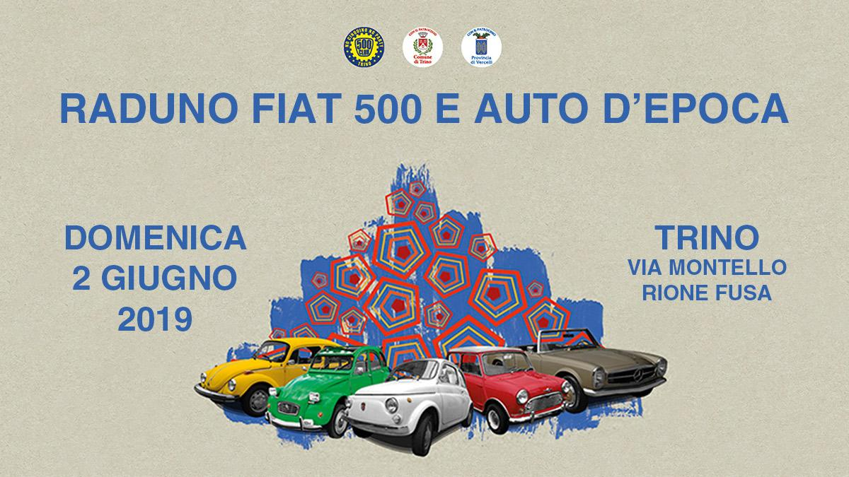 The Fiat 500 and vintage cars rally